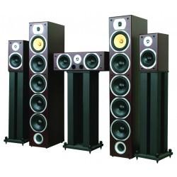Home Theatre 5.0 speakerset - Zwart  (3 dozen)