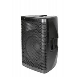 "500W actieve speaker, 12"" woofer, line + mic-in"
